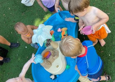Water Play for Young Toddlers